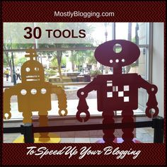A guide to 31 free tools which will help bloggers #blog quicker, so they can have a more quality life.