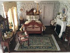 Fairfield Dollhouse 1:24 scale - Bedroom