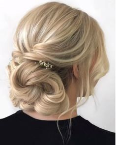 Bun Hairstyles With Edges is part of Bun Edges Bad Gal In Curly Hair Styles Hair - Quick Hair Tutorial Prom Hairstyles For Short Hair, Quick Hairstyles, Bride Hairstyles, Ponytail Hairstyles, Hairstyle Ideas, Gorgeous Hairstyles, Updos For Fine Hair, Dinner Hairstyles, Homecoming Hairstyles