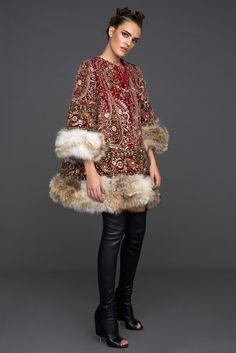 Jewel Coat by Tete by Odette