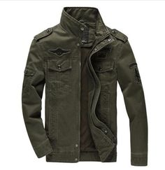 Air Force Military Jacket #abrigos