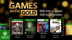 Games with Gold: jogos grátis na Live para dezembro de 2016 - http://www.showmetech.com.br/games-with-gold-de-dezembro/
