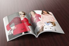 Magazine Mockup by Vecto Designs on Creative Market