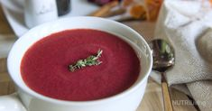 Warm and hearty, this winter soup is packed with root vegetable goodness that won't just keep you full, but keep you healthy! Beets are rich in vitamins and fiber, which helps improve digestion and heart health, and provides the body with antioxidants.  Read more at https://www.nutriliving.com/recipes/pumpkin-beet-soup#yuG96izABrZEpoUc.99
