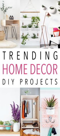 I love putting together a collection of Trending Home Decor DIY Projects. I get to go to many fabulous blogs and check out what is new and trending then I pick some that I think you will really enjoy and can adapt to many different styles and share! This week I think you are really …
