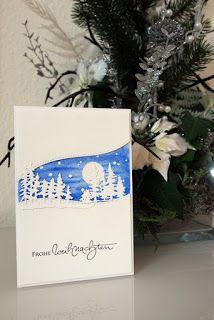 Kerstins Papierkram: Winterlandschaft
