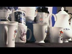 Transfer Printing Process on Promotional Mugs