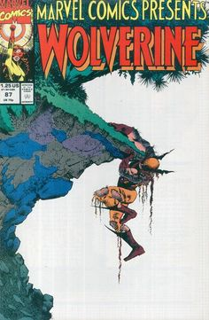 Marvel Comics Presents Vol 1 87 Wolverine Cover by Sam Keith