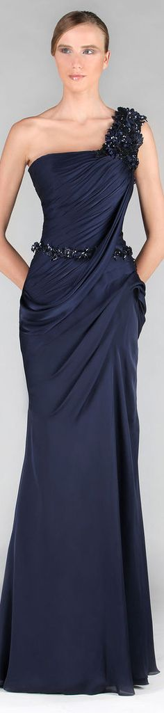 Tony Ward Couture - Summer 2013 Collection  #formal #dress #oneshoulder
