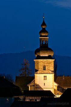 Kirche in Bedheim, Thüringen.