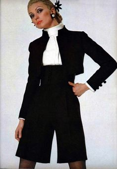 Saint Laurent L'Officiel magazine 1968
