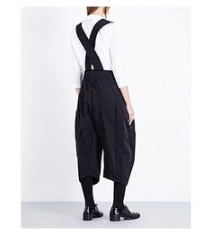 COMME DES GARCONS - Tapered high-rise twill harem trousers | Selfridges.com