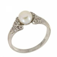 Unique Antique Engagement Ring!