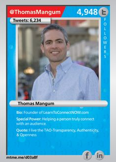 Founder of LearnToConnectNOW.com