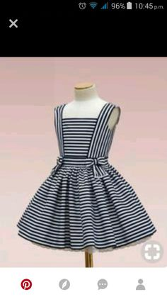 Toddler Dress, Toddler Outfits, Kids Outfits, African Dresses For Kids, Dresses Kids Girl, Baby Girl Dress Patterns, Kids Fashion, Clothes For Women, Sewing