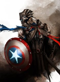 The Avengers Reimagined as Medieval Fantasy Warriors