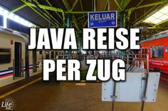 In diesem Beitrag erfährst du, wie einfach es ist Java mit dem Zug zu bereisen. Zudem bekommst du mit dem Zug auf Java viel von Land und Leuten mit!
