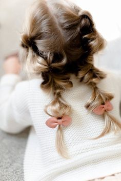 Baby Girl Hairstyles, Cute Hairstyles, Braided Hairstyles, Updo Hairstyle, Braided Updo, Invisible Braids, Girl Hair Dos, Mode Chanel, Toddler Hair