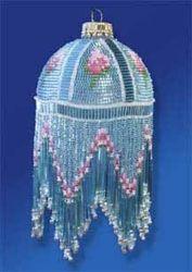 Christmas Ornament Beading Kits, seed beads