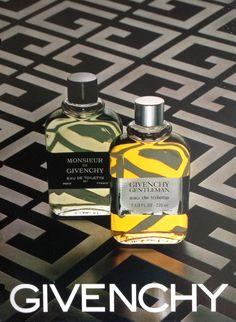 Givenchy Gentleman and Monsieur de Givenchy. Gentleman Givenchy, Paris, Spray Bottle, Men Dress, Personal Care, Fragrances, Communication, Book, Perfume Bottles