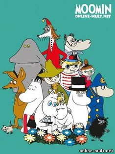 Posters: Moomin Mini Poster - Characters x 16 inches) Poster Shop, Sale Poster, Poster Prints, Art Prints, Mini Poster, Les Moomins, Framing Canvas Art, Marvel Comics, Moomin Valley