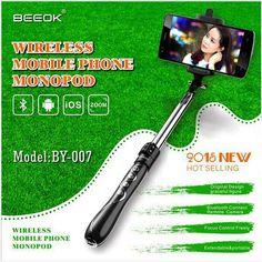 Selfie Monopod Phone Camera Stick