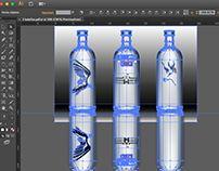Victor Carvajal on Behance Chile, Behance, Bottle, Parts Of The Mass, Flask, Jars, Chili