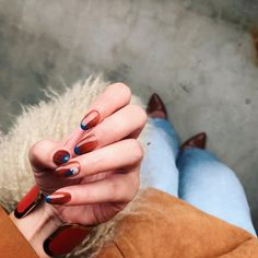 Love Nails, Pretty Nails, Fun Nails, Broken Nails, Happy Nails, French Nails, Nail Arts, Nail Inspo, Natural Nails
