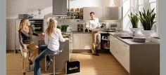 Cocina de Diseño The Singular Kitchen: Magnolia & Kubanit metalizado