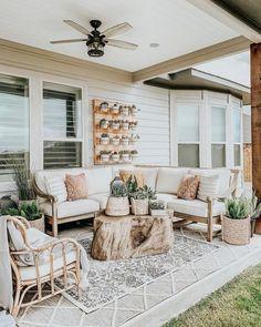 Root Outdoor Coffee Table—Arhaus - Outdoor living - Home Sweet Home Backyard Patio Designs, Diy Patio, Budget Patio, Backyard Ideas, Patio Decks, Wood Patio, Outdoor Patio Ideas On A Budget Diy, Pavers Patio, Small Backyard Patio