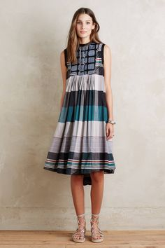 Anais Stripe Dress - anthropologie.com