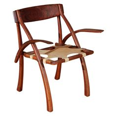 Arthur Espenet Carpenter 'Wishbone' Armchair   From a unique collection of antique and modern armchairs at http://www.1stdibs.com/furniture/seating/armchairs/