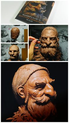 The awesome Glauco Longhi teaches you how to sculpt a dwarf bust in Beginner's Guide to Sculpting Characters in Clay. Sculpting Tutorials, Art Tutorials, Pottery Sculpture, Sculpture Clay, Free To Use Images, Ceramic Figures, Art Techniques, Clay Art, Art Dolls
