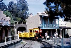 The Mine Train at Disneyland, 1962