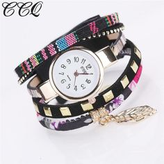 CCQ Fashion Women Girls Analog Quartz Wristwatch Ladies Dress Bracelet Watches
