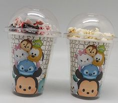 TSUM TSUM by Disney Set of 8 - Party Cups, Popcorn Cups…