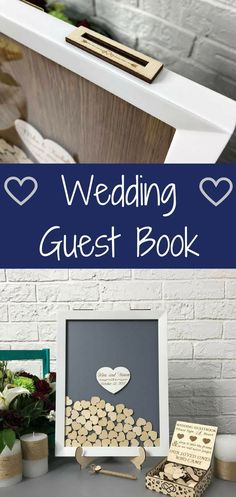 Wedding guest book Alternative wedding guest book Guest book Guestbook hearts Wedding wishes box Wedding guestbook Personalized wedding #guestbook #weddingbook #wedding #weddingideas #weddingday #weddingguestbook #rustic #sign #affiliate