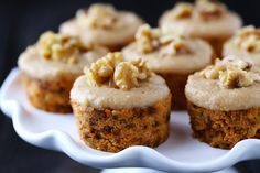 Raw Carrot Cake with Cashew Vanilla Frosting | gimme some oven