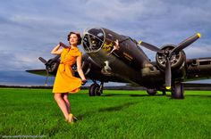 Planes and Dames, the fabulous world of pinups and warbird aircraft. nimrod-tiger