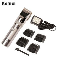 Electric Rechargeable Men′s Adjustable Hair Shaver Clipper Trimmer Ceramic Blade…