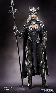 'Thor 2' Concept Art Reveals Valkyrie Was Almost a Star