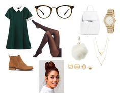 """""""Untitled #98"""" by chicfashionista77 ❤ liked on Polyvore featuring Lucky Brand, SPANX, Ace, Charlotte Russe, LULUS and DKNY"""
