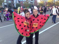 Watermelon DIY costume!