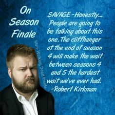 The Walking Dead, Robert Kirkman Is it possible to hate someone and love them at the same time? love this show!!