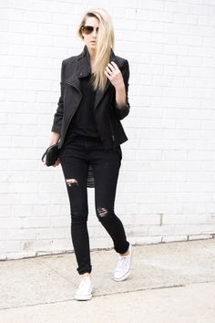 figtny.com | outfit • 45 - blk on blk on blk !