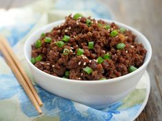Instant Pot Ground Beef Bulgogi