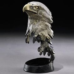 Eagle Sculpture | Liberty | Bronze | Mark Hopkins