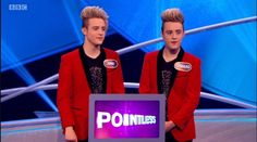 It was third time lucky for Irish singer songwriting duo John and Edward Grimes, better known as Jedward, who after two previous appearances, beat off three other celebrity pairs, including 70