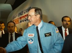 NASA's Mission to Planet Earth began with Reagan and Bush.  Now under attack by climate change denying Republicans...