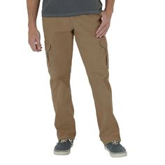 Wrangler Men's Loose Fit Twill Cargo Pant